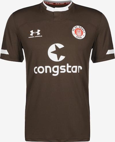 UNDER ARMOUR Fußballtrikot 'FC St. Pauli 19/20 Heim' in braun, Produktansicht