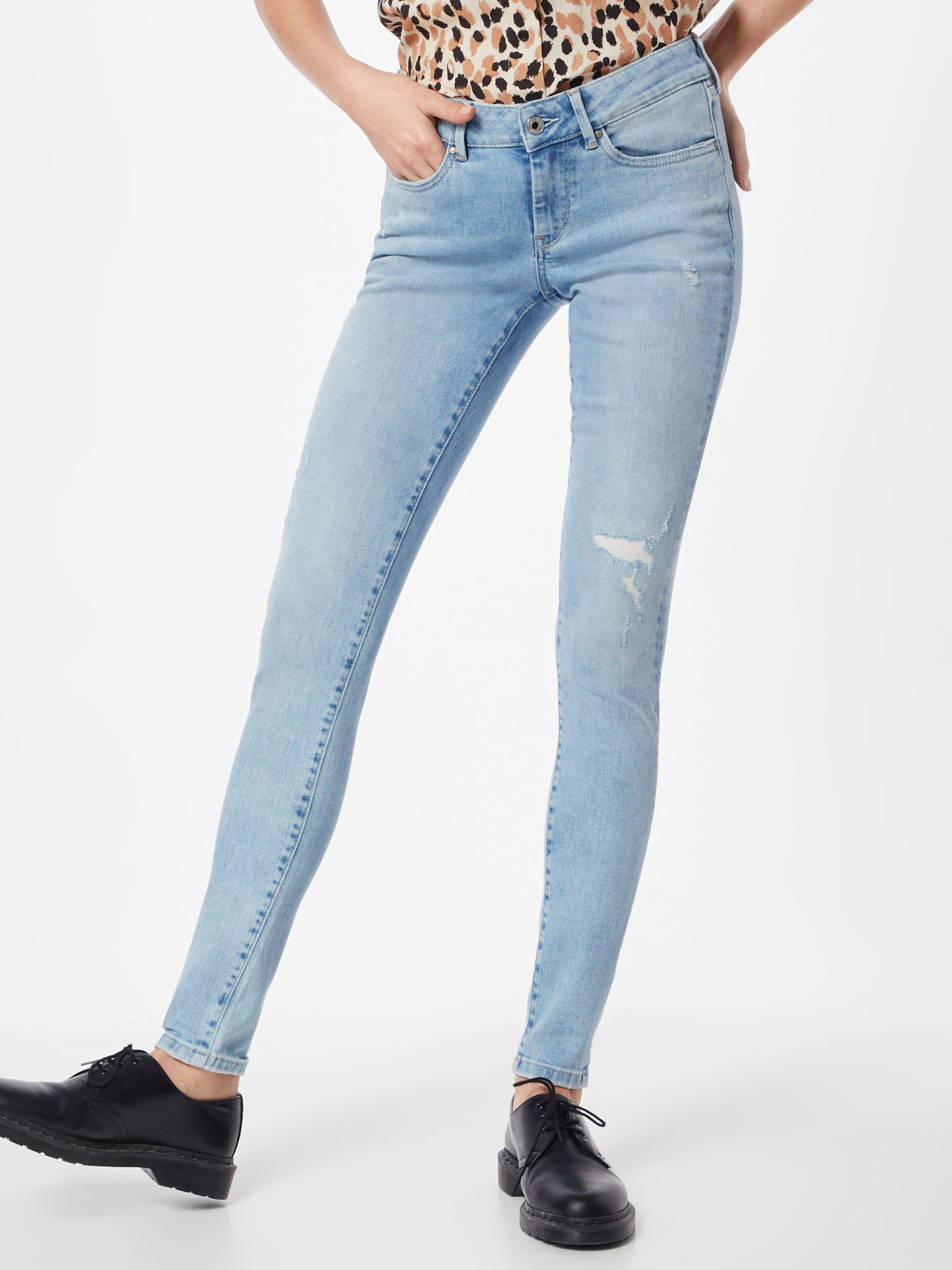 'pixie' 'pixie' In Jeans Pepe Jeans Hellblau In Pepe f7YIby6gv