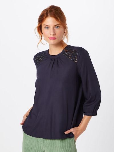 VERO MODA Bluse in nachtblau, Modelansicht