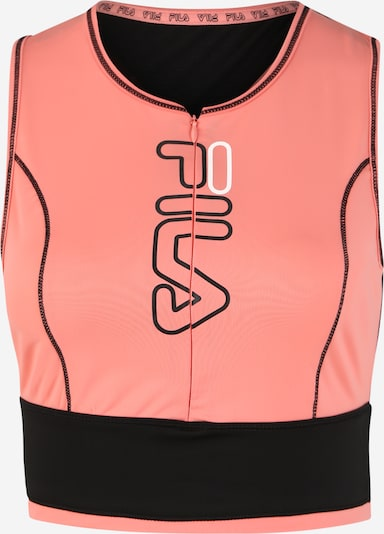 FILA Shirt 'AIRI' in pink / schwarz, Produktansicht