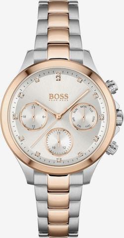 BOSS Casual Analog Watch 'Hera' in Silver