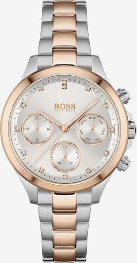 BOSS Casual Аналогов часовник 'HERA' в розово злато / сребърно / бяло, Преглед на продукта