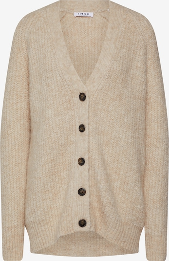 EDITED Strickjacke 'Eliandro' in beige, Produktansicht