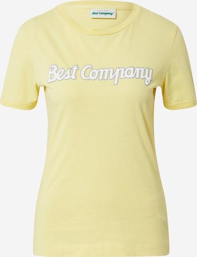 Best Company Shirt in gelb, Produktansicht