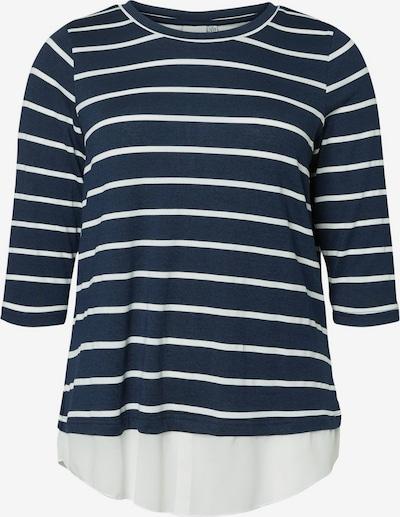Junarose Trui in de kleur Navy / Wit, Productweergave