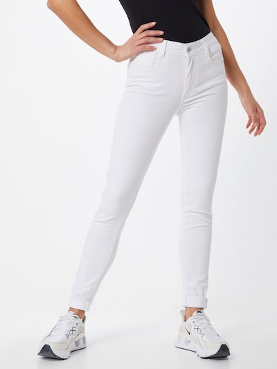 Le Temps Des Cerises Jeans 'JF PULP HIGHSLI' in weiß, Modelansicht