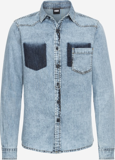 Urban Classics Hemd 'Denim Pocket Shirt' in blue denim, Produktansicht