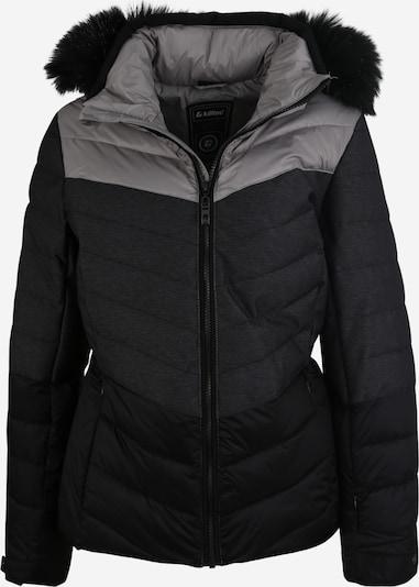 KILLTEC Skijacke 'Brinley' in dunkelgrau / schwarz, Produktansicht