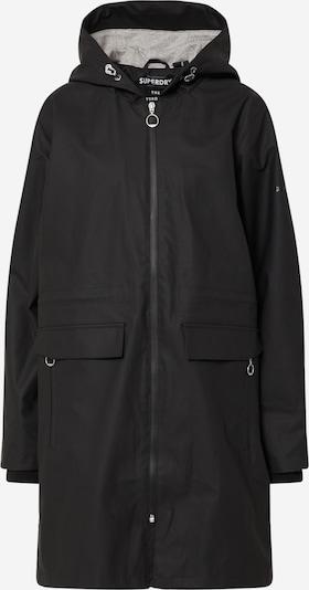 Superdry Prechodný kabát - čierna, Produkt