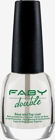 FABY 'Double Base & Top Coat', Unter- und Überlack in transparent, Produktansicht