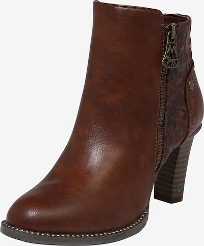 MUSTANG Ankle Boots in kastanienbraun, Produktansicht