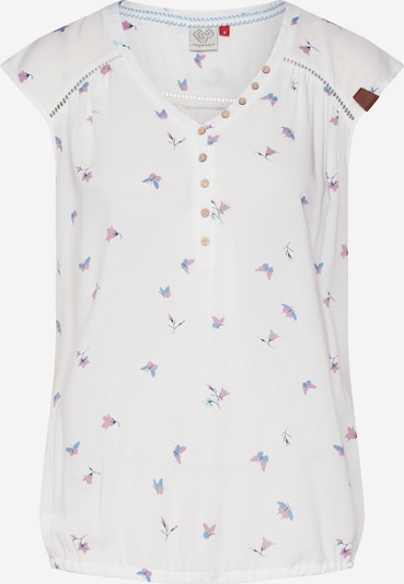 Ragwear Top 'SALTY A' in mischfarben / weiß, Produktansicht