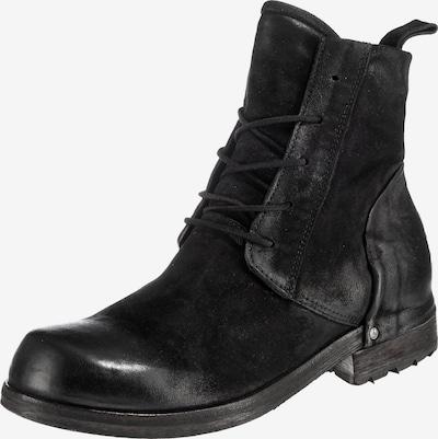 A.S.98 Schnürstiefelette in schwarz, Produktansicht
