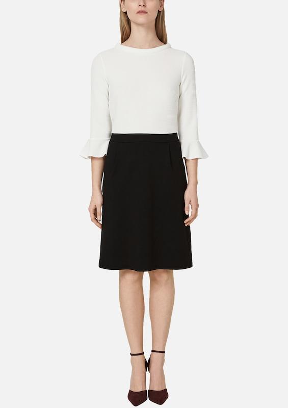 S.Oliver schwarz LABEL Kleid in schwarz     weiß  Neu in diesem Quartal 7d4a23