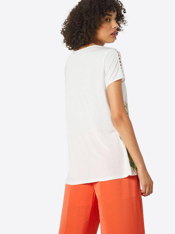 De Mélange CouleursBlanc Esprit Collection T shirt En KJFclT1
