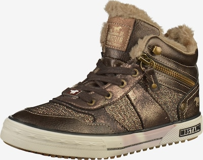 MUSTANG Sneaker in mokka, Produktansicht