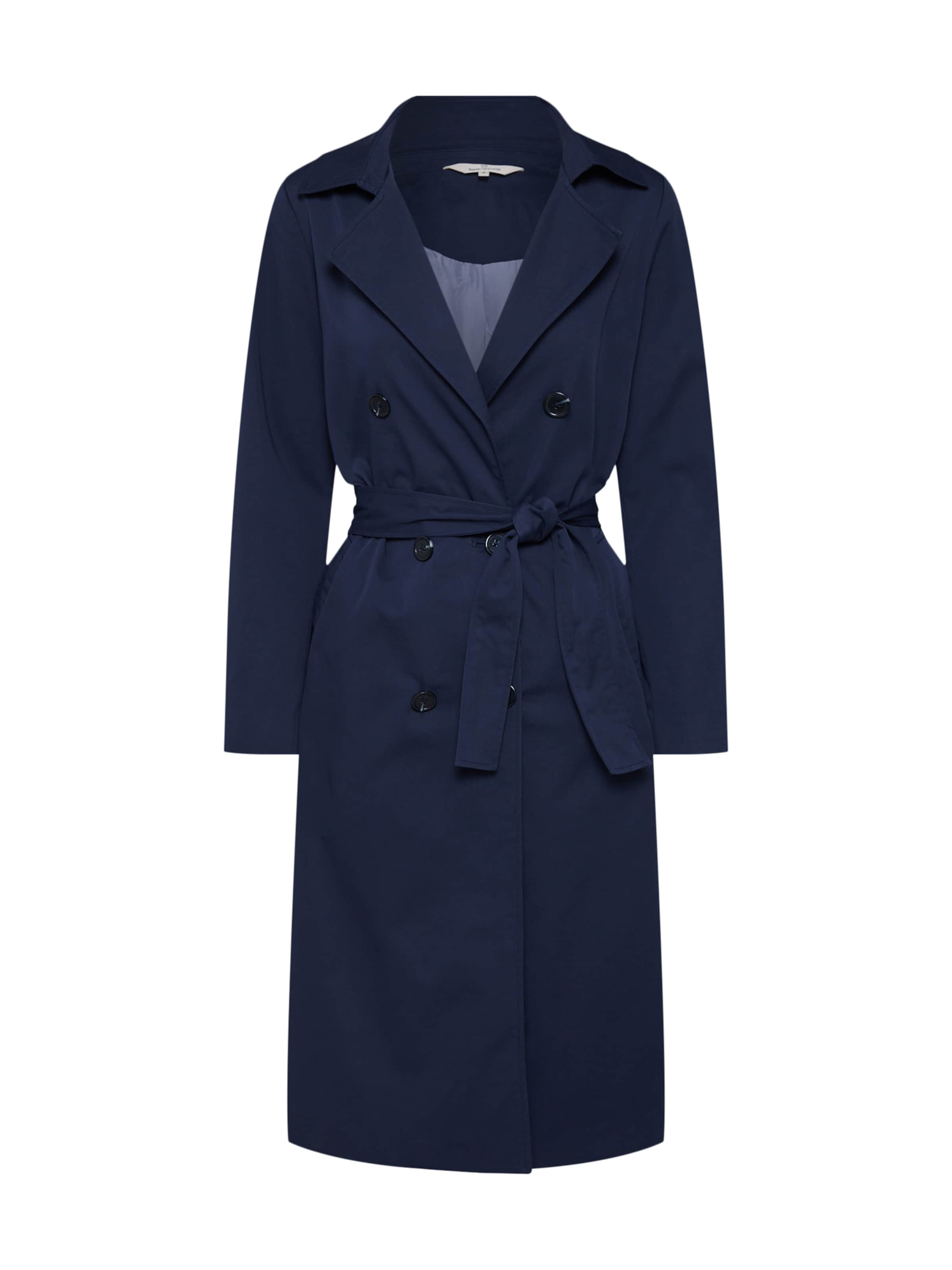 Jacket' Bleu Apparel Manteau 'greta Mi Marine En saison Basic WHYI9DE2