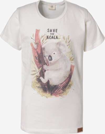 Walkiddy T-Shirt 'Save The Koala' in weiß, Produktansicht