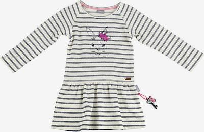 SIGIKID Kleid in grau / pink / weiß: Frontalansicht