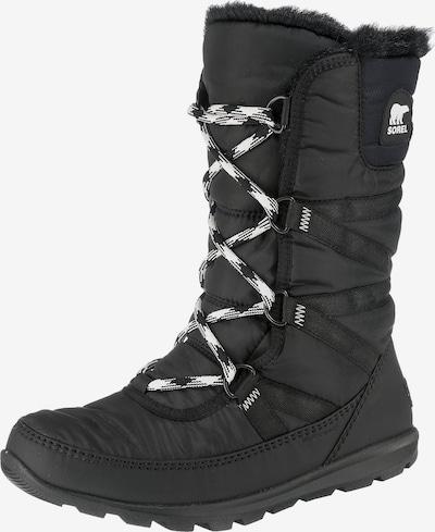 SOREL Snowboots 'Whitney Tall Lace II' in de kleur Zwart, Productweergave