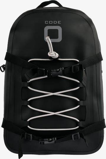 CODE-ZERO Rucksack 'Floater' in hellgrau / schwarz, Produktansicht