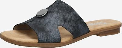RIEKER Pantolette in dunkelblau, Produktansicht