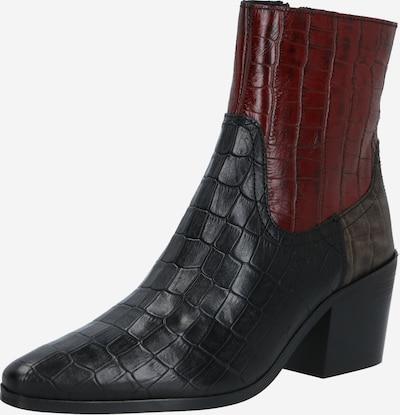 Shoe The Bear Stiefelette 'GEORGIA' in bordeaux / schwarz, Produktansicht