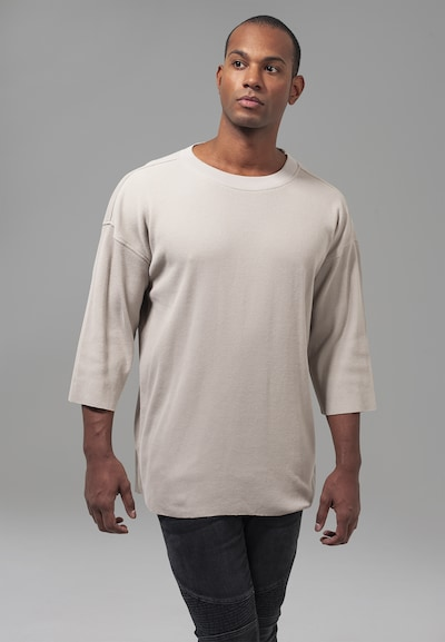 Urban Classics T-Shirt Thermal Boxy Tee in cappuccino: Frontalansicht