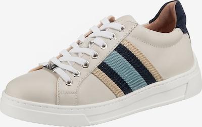 UNISA Sneakers laag in de kleur Beige / Crème / Blauw, Productweergave