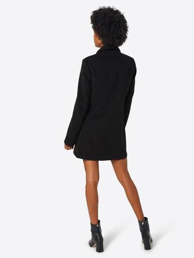 ABOUT YOU Mantel 'Dina' in schwarz: Rückansicht