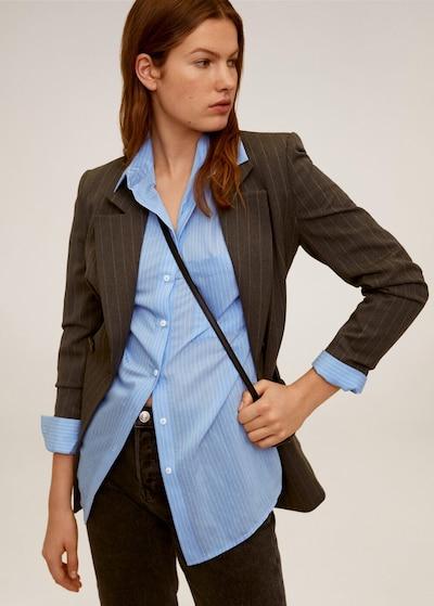 MANGO Blusenhemd 'happi' in blau, Modelansicht