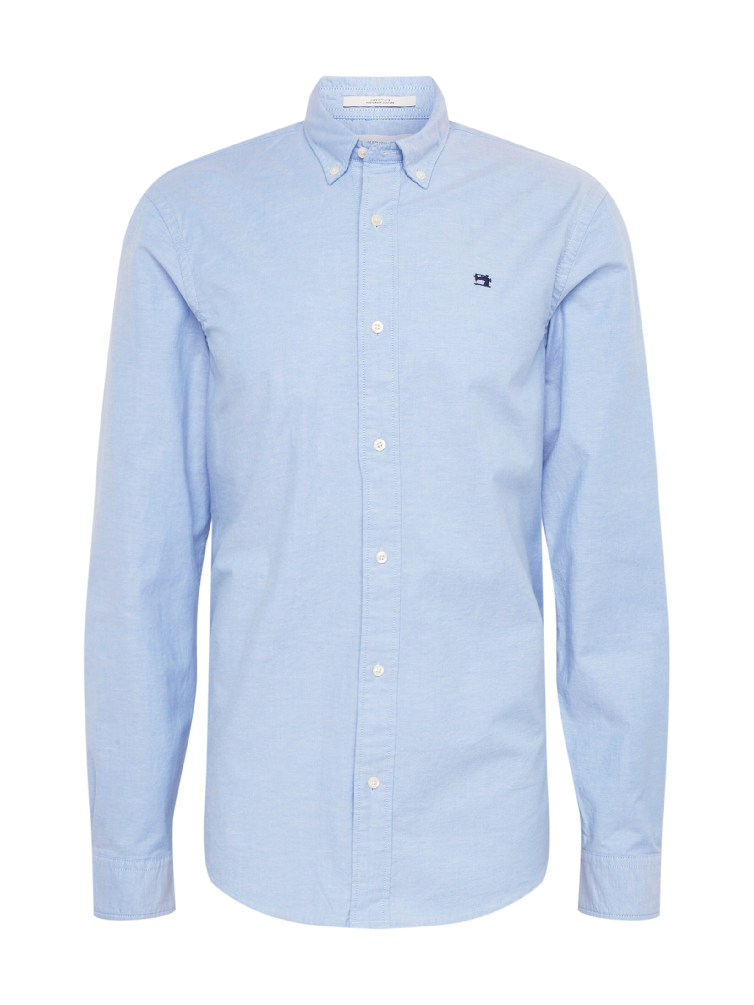 Soda 'oxford' Scotchamp; Lichtblauw In Zakelijk Overhemd qGUzpMLVS