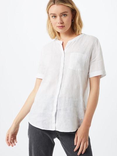 BRAX Bluse 'VANIA' in weiß: Frontalansicht