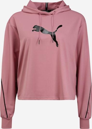 PUMA Sportief sweatshirt in de kleur Oudroze / Zwart, Productweergave