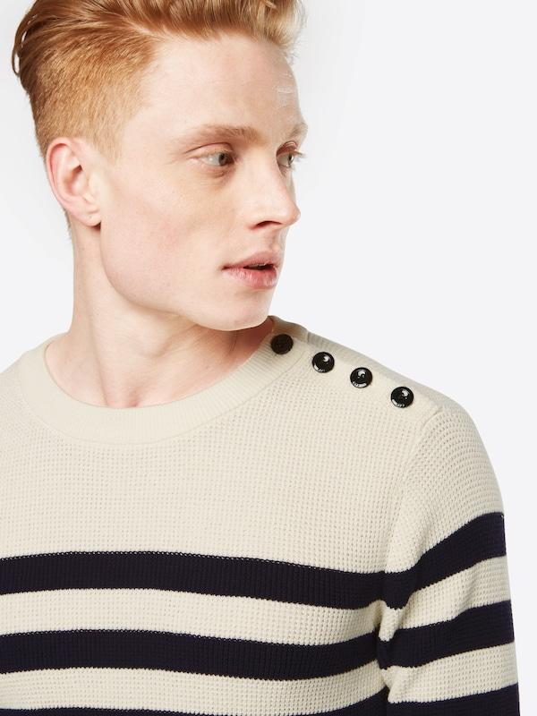 G-STAR RAW Pullover 'Dadin stripe r knit l/s'
