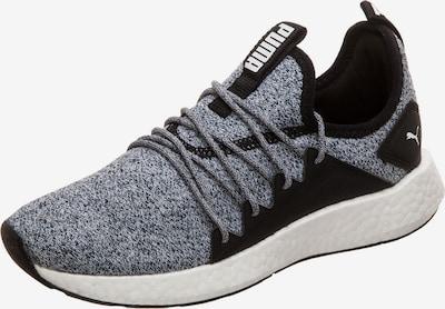 PUMA Laufschuh 'NRGY Neko Knit' in schwarz / weiß, Produktansicht