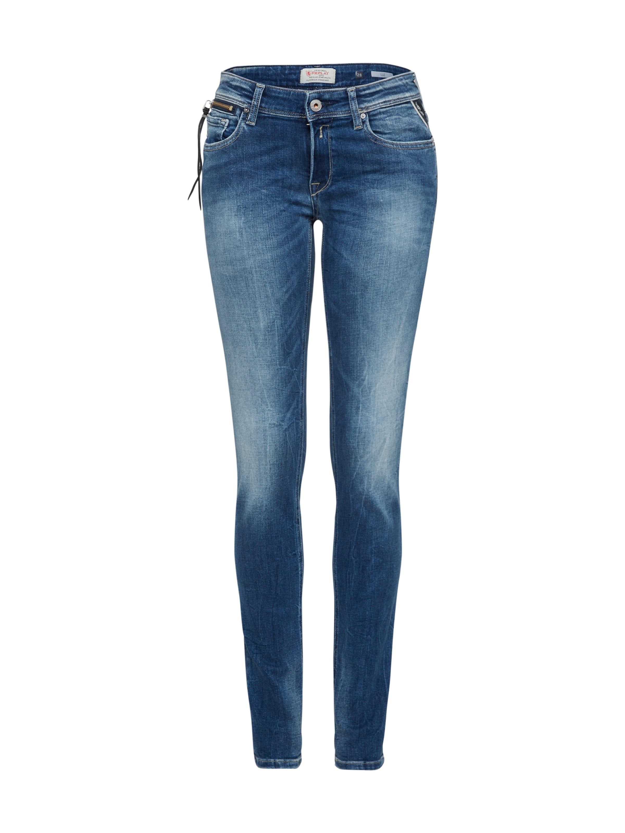 Jeans Denim In Replay 'luz' Blue sxdhtQrC