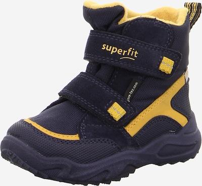 SUPERFIT Snowboots in dunkelblau / hellgelb, Produktansicht