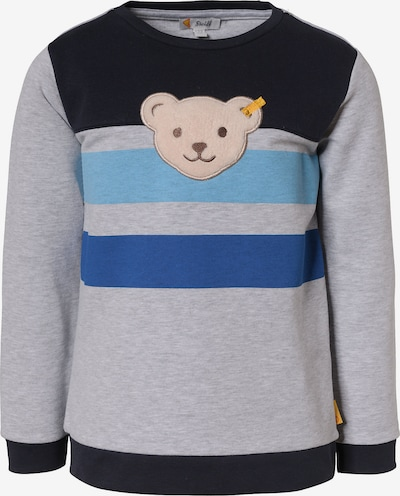Steiff Collection Sweatshirt in blau / hellblau / braun / grau / schwarz, Produktansicht