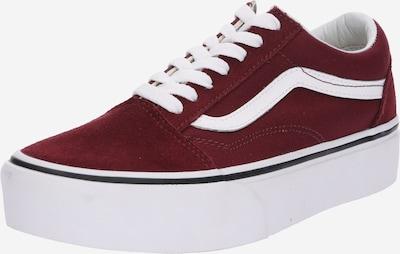 VANS Sneaker 'Old Skool Platform' in bordeaux / weiß, Produktansicht