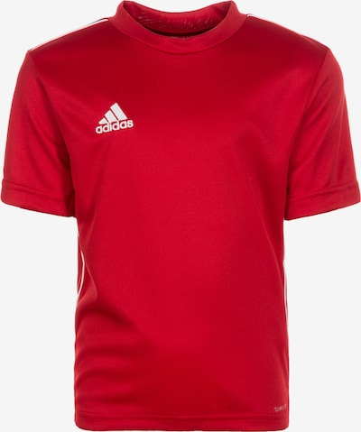 ADIDAS PERFORMANCE 'Core 18' Trainingsshirt in rot / weiß, Produktansicht