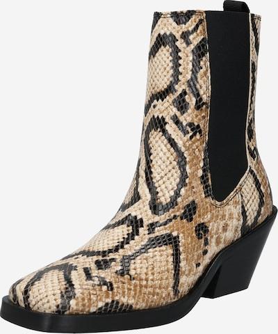 SELECTED FEMME Chelsea čizme 'AVA' u pijesak / crna, Pregled proizvoda