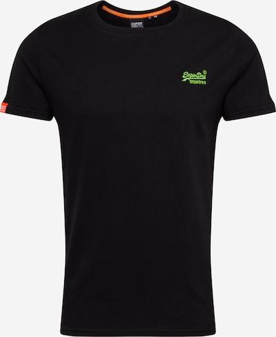 Superdry Shirt 'OL NEON' in schwarz, Produktansicht