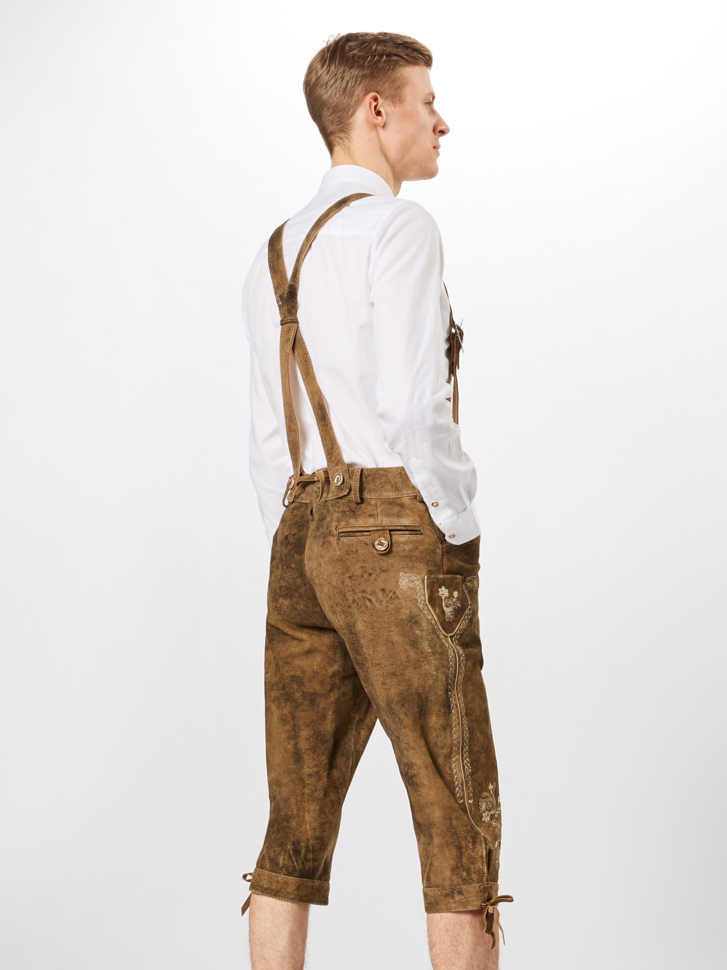 Marron Pantalon 'justin3' En Folklorique Stockerpoint 8wmON0vn