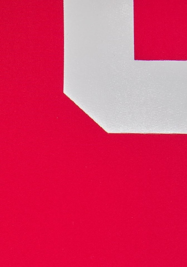 CHIEMSEE Badeanzug in rot / weiß, Produktansicht