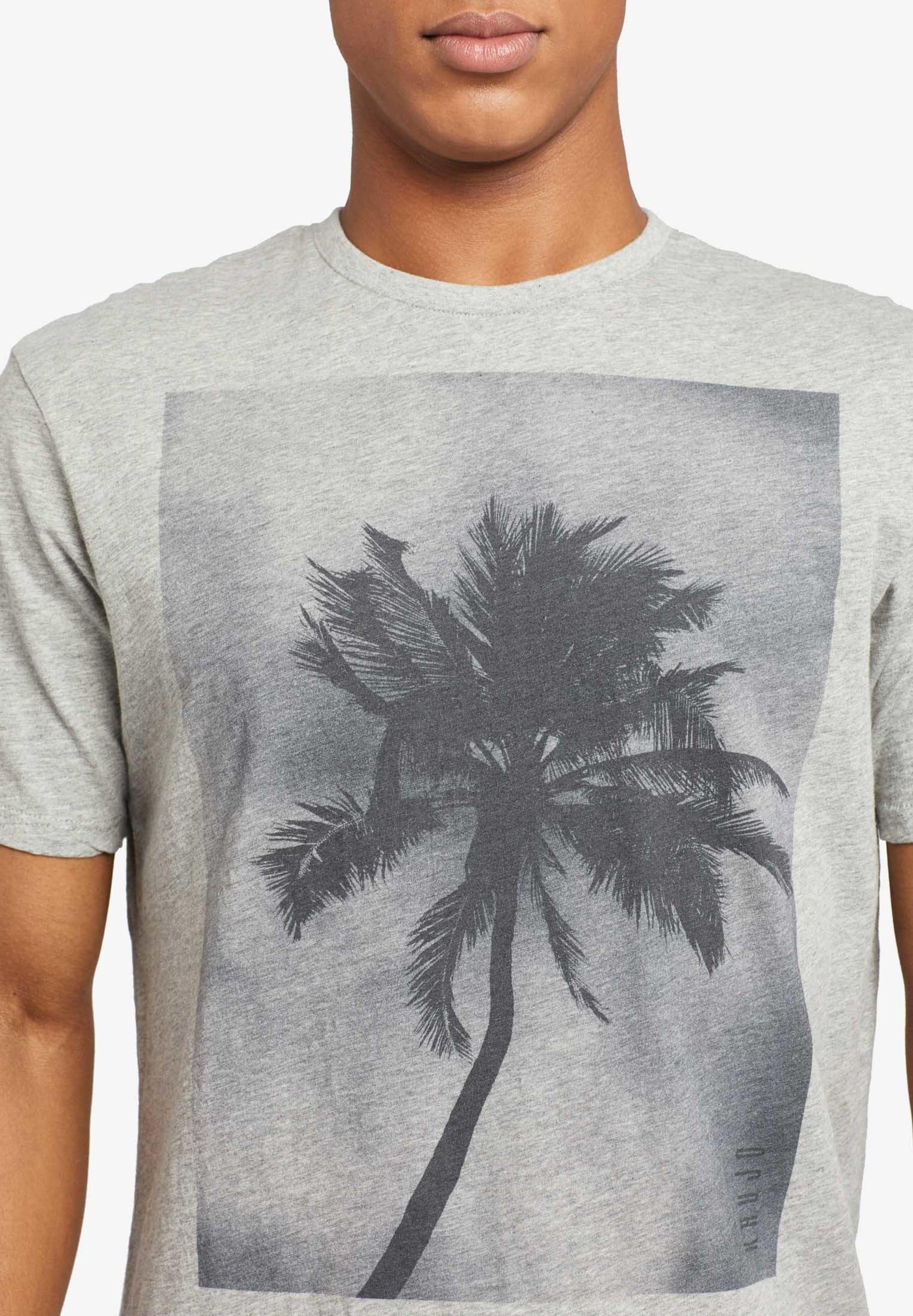 T shirt Khujo Palm' Grau 'uslo In kuPOZiX