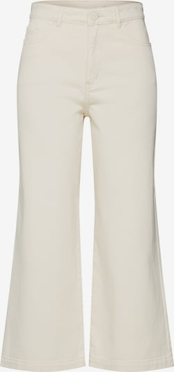 Review Jeans 'DNM WIDE UNDYED' in de kleur Offwhite, Productweergave