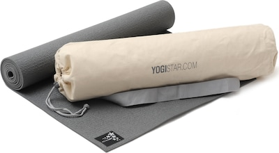 YOGISTAR.COM Yoga-set Starter Edition in beige / grau, Produktansicht