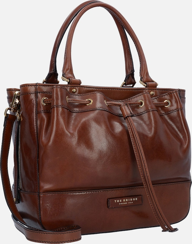 The Bridge Shopper Tasche Leder 34 cm