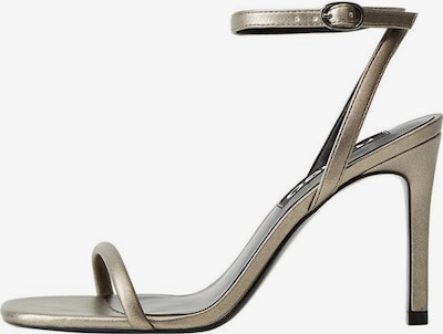 MANGO Sandaletten 'Lali' in silbergrau, Produktansicht